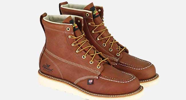 "Thorogood Men's American Heritage 6"" MAXwear Wedge Moc Toe Boot"