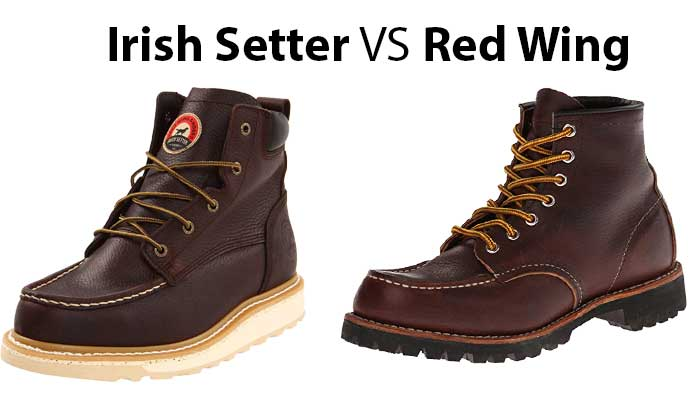 Irish Setter vs. Red Wing